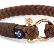 Constantin Nautics® Jack Tar bőr karkötő CNJ10022-19-5