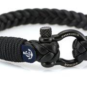 Constantin Nautics® Jack Tar bőr karkötő  CNJ10029