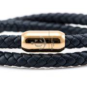 Constantin Nautics® Jack Tar bőr karkötő CNJ10050-18
