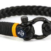 Constantin Nautics® Jack Tar bőr karkötő CNJ10055-20