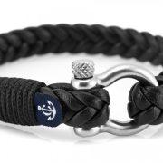 Constantin Nautics® Jack Tar bőr karkötő  CNJ10078-20