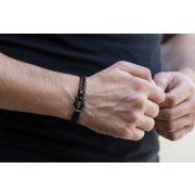 Constantin Nautics® Jack Tar bőr karkötő CNJ10095-19